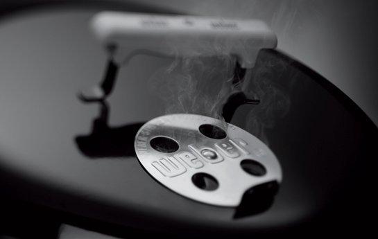 Ventilatiegaten in het deksel van een BBQ